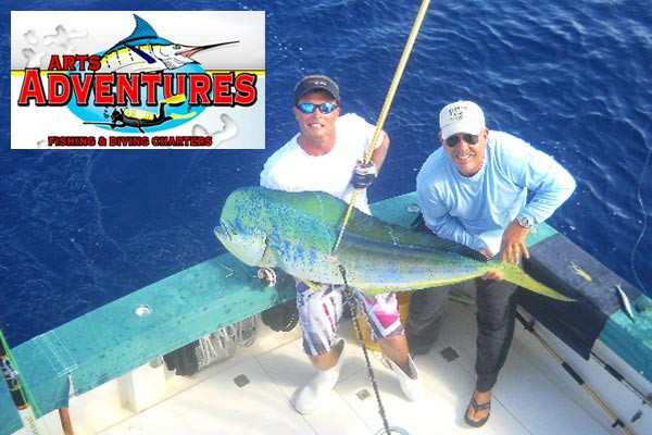 Arts adventures sport fishing charters for Cocoa beach fishing charters
