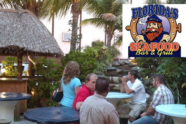 Florida Seafood Bar And Grill Cocoabeach Com Cocoa Beach Florida Family Vacation Guide